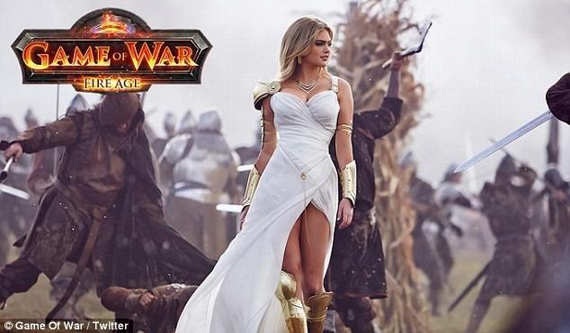 Кейт Аптон В Рекламе Game Of War